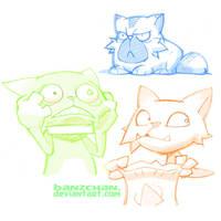 Banzchan Cats by Banzchan