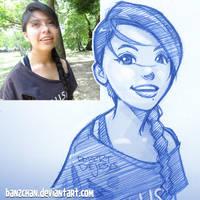 Emily Sketch by Banzchan