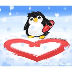 Penguin Art by Banzchan