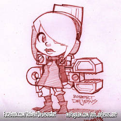 Iconoclasts Robin by Banzchan