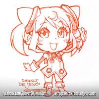 Chibi Hacka Doll No. 1 by Banzchan