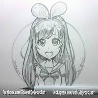 Kizuna Ai by Banzchan