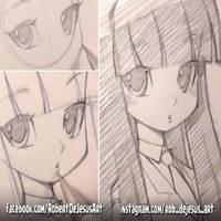 Throwback Thursday Manga Girl by Banzchan