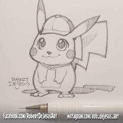 Detective Pikachu by Banzchan