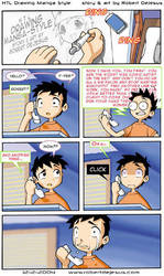 How To Loathe Drawing Manga Style by Banzchan