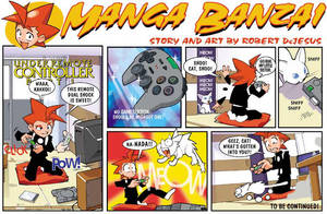 Manga Banzai 1 by Banzchan