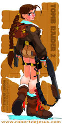 Tomb Raider by Banzchan