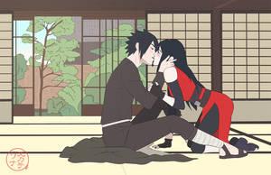 : kiss me Yuki : by Lala-Mot