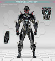 Procyon Armor by RobertDamnation