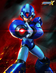 MegaMan X by RobertDamnation