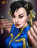 Chun Li by RobertDamnation