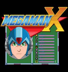megaman X by Alex-NascimentoR