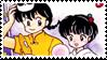 Ranma Stamp - RanmaAkane 015 by hanakt