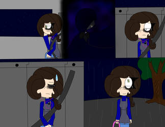 T.H.B story 1 Goosebumes town of creeps page 2 by ladyckk