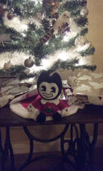 Bendy In A christmas sweater by ladyckk