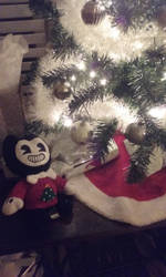 Bendy And The Christmas tree 2 by ladyckk