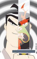 samurai Jack by CROMOU