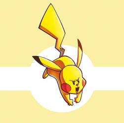 Let's Go Pikachu by CROMOU