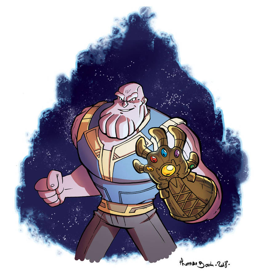 Thanos by CROMOU