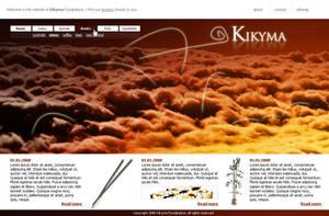 Kikyma website by Inonomas