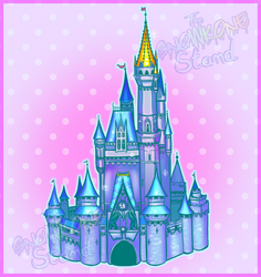 Cinderella Castle by kellieabomination