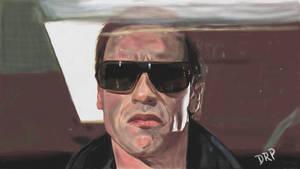 Terminator T800 Arnold Schwarzenegger by davidpustansky