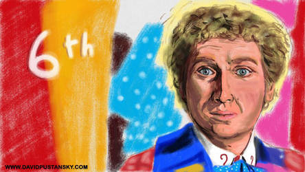 Doctor Who: The Sixth Doctor by davidpustansky