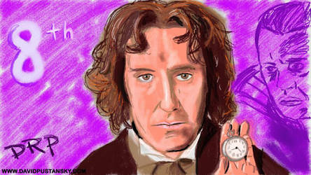 Doctor Who: The Eighth Doctor by davidpustansky