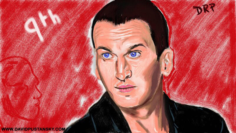 Doctor Who: The Ninth Doctor by davidpustansky