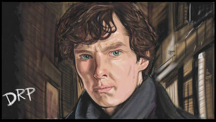Benedict Cumberbatch As Sherlock by davidpustansky