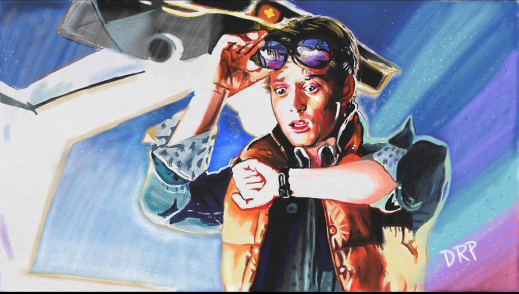 Back To The Future Marty McFly by davidpustansky