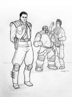 Horner, Swann, and Stetmann by Tokoldi
