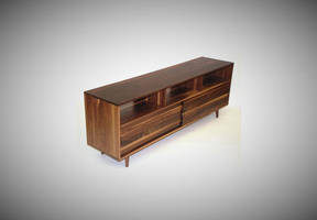 Mid Century Media Console by belakwood