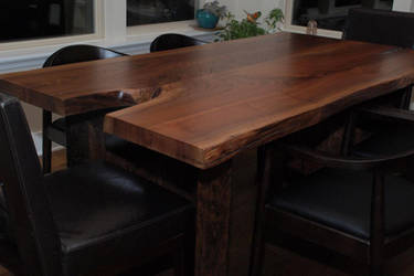Escade Live Edge Dining Table by belakwood
