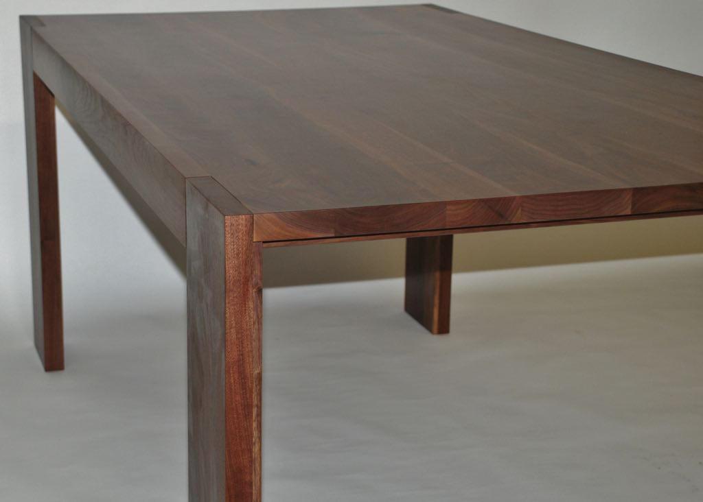 Parsons Walnut Dining Table by belakwood