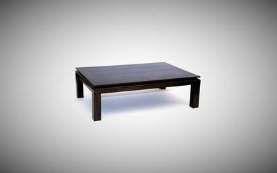 Black Mahogany Coffee Table by belakwood