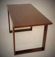Modern Maple Office Desk by belakwood