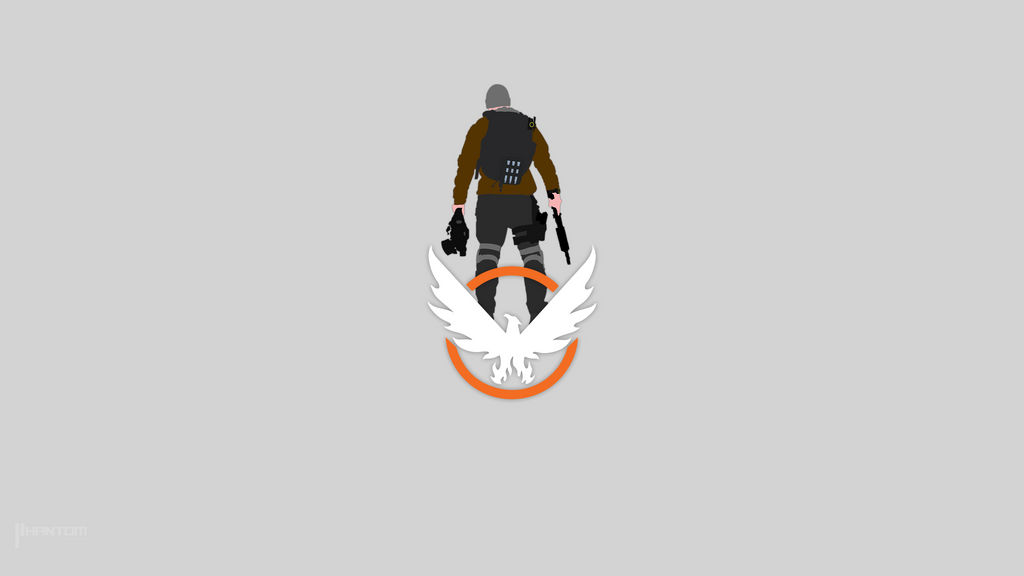The Division Minimalist Wallpaper By Phantom Playr On Deviantart