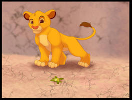 Simba by WoolNoon