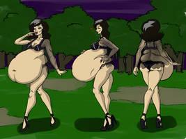 Serleena belly views by abitofitall
