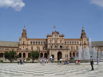 Plaza de Espana Sevilla by sgarciaburgos
