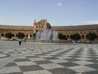 Sevilla Plaza de Espana by sgarciaburgos
