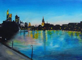 Frankfurt am Main, Germany by sgarciaburgos