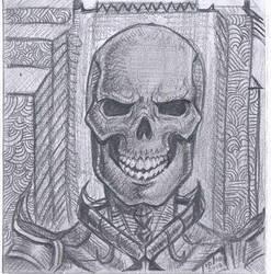 Random Face 307 - Skull by MaJr12