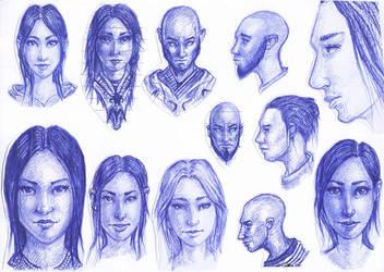 Random Faces 1 by MaJr12