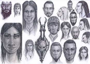 Random Faces 4 by MaJr12