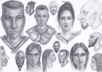 Random Faces 7 by MaJr12