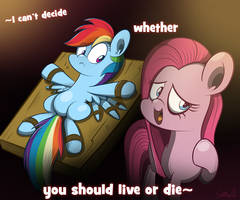 I Can't Decide by Slitherpon