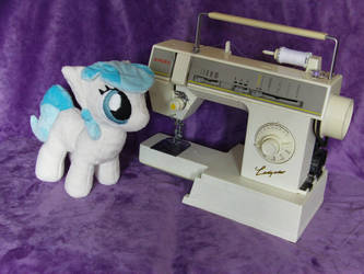 Coco Pommel Filly Pushie by BassPlushProductions