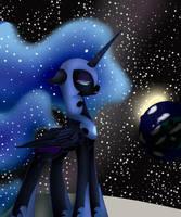 Nightmare Moon by midfire